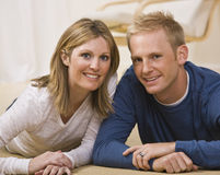 Beautiful Couple Posing Royalty Free Stock Photos