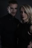 Beautiful couple posing Stock Photography