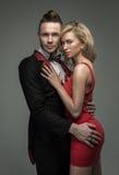 Beautiful couple posing Stock Image