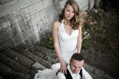 Beautiful couple Stock Images