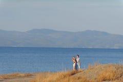 Beautiful Couple by Sea Stock Photos