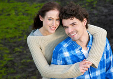Beautiful Couple Smiling Royalty Free Stock Image