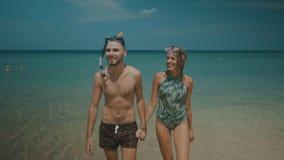 Beautiful couple during summer holidays Royalty Free Stock Photos
