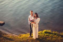 Beautiful couple Royalty Free Stock Photography