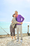Beautiful couple in vacation Stock Photography