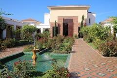 Beautiful Courtyard Royalty Free Stock Photography