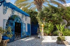 Beautiful courtyard in Arabic style. Stock Photography