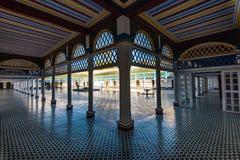 Beautiful courtyard in Bahia Palace,Morocco.  Royalty Free Stock Photo