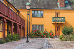Beautiful courtyard Stock Images