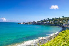 Beautiful Coverack in Cornwall Stock Images
