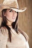Beautiful Cowgirl Stock Image