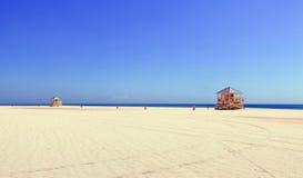 Beautiful Crandon Park beach in Miami Stock Image