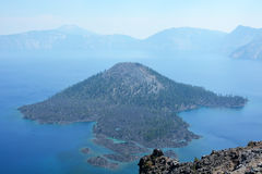 Beautiful Crater lake in Oregon, USA Royalty Free Stock Photo