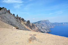 Beautiful Crater lake in Oregon, USA Stock Photography
