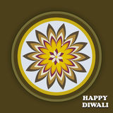 Beautiful creative Art colorful diwali rangoli  Royalty Free Stock Photo