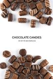 Chocolate Sweets Isolated Royalty Free Stock Photography