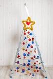 Beautiful and creative Christmas tree Royalty Free Stock Photos