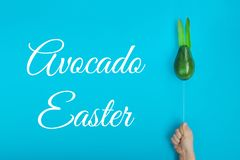 Happy Easter composition card concept with space for text royalty free stock photography