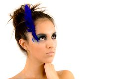 Beautiful Creative Fashion Makeup. Fantasy Make-up Royalty Free Stock Photos