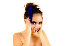 Beautiful Creative Fashion Makeup. Fantasy Make-up Stock Photos