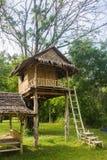 Beautiful creative handmade tree house.  Stock Photography