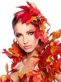 Beautiful creative makeup Stock Image