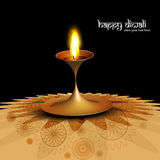 Beautiful creative shiny diwali lamp Stock Photos