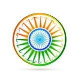 Beautiful creative vector indian flag design Royalty Free Stock Photos