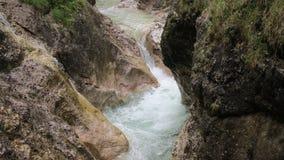 Beautiful creek between rocks Royalty Free Stock Image