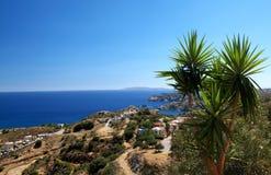 Beautiful cretan landscape stock photos