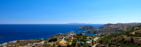 Beautiful cretan landscape royalty free stock image