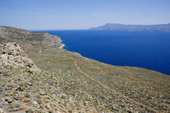 Beautiful Crete bay. Stock Photo