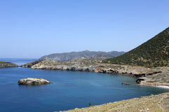 Beautiful Crete bay. Royalty Free Stock Image