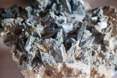 Beautiful cristals, minerals and stones Stock Photography