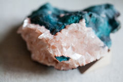 Beautiful cristals, minerals and stones Stock Images