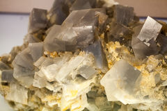 Beautiful cristals, minerals and stones Royalty Free Stock Images