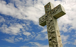 Beautiful cross Stock Image