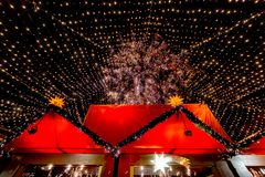 Free Beautiful Crowded Cologne Christmas Market Royalty Free Stock Image - 135187726