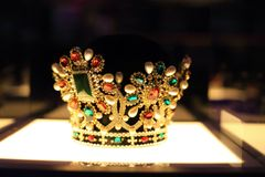 Beautiful crown Royalty Free Stock Photography