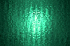 Beautiful crystal. Abstract design background Stock Images