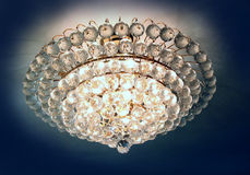 Beautiful crystal chandelier Stock Image