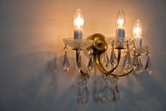 Beautiful Crystal Classical Chandelier Stock Photos