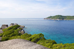 Beautiful crystal clear sea at Similan island, Royalty Free Stock Images