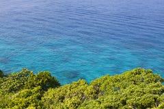 Beautiful crystal clear sea at Similan island, Royalty Free Stock Image