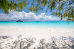 Beautiful crystal clear sea and white sand beach at Tachai island, Andaman Royalty Free Stock Image
