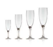 Beautiful crystal wine glass Stock Photo