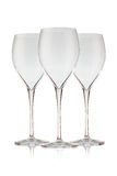 Beautiful crystal wine glass Royalty Free Stock Photography