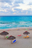 The beautiful cuban beach of Varadero Stock Photography