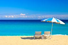The beautiful cuban beach of Varadero Royalty Free Stock Images