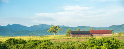 Beautiful Cuban Countryside Royalty Free Stock Images